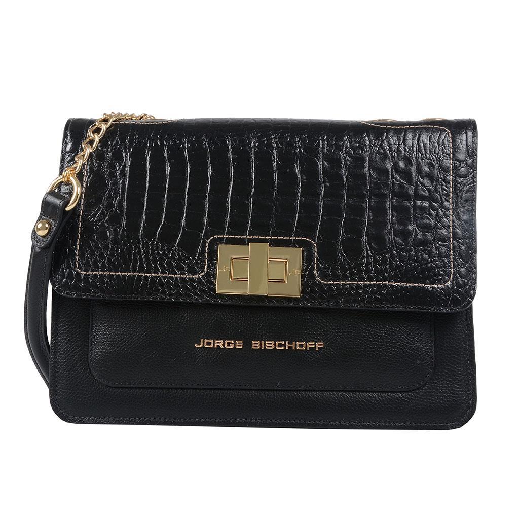 029b9b68ea1 Bolsa preta - Jorge Bischoff Sapatos, bolsas e acessórios em couro ...
