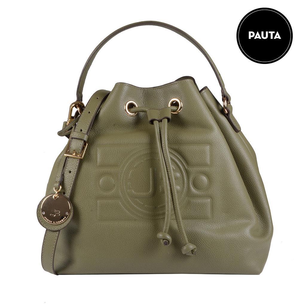 0694a22d7f Bolsa saco verde militar I19 - Jorge Bischoff Sapatos, bolsas e ...