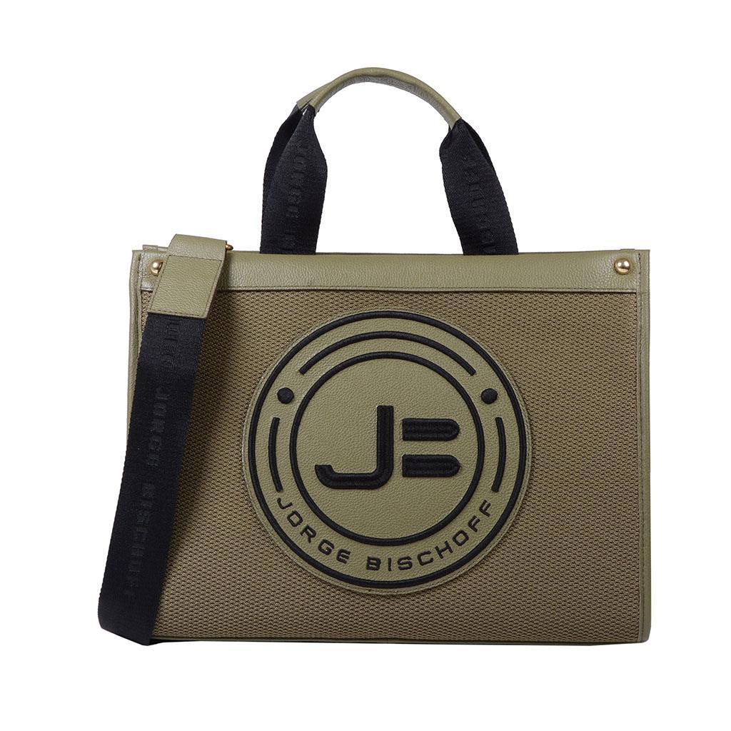 189808045f Bolsa sacola verde militar I19 - Jorge Bischoff Sapatos, bolsas e ...