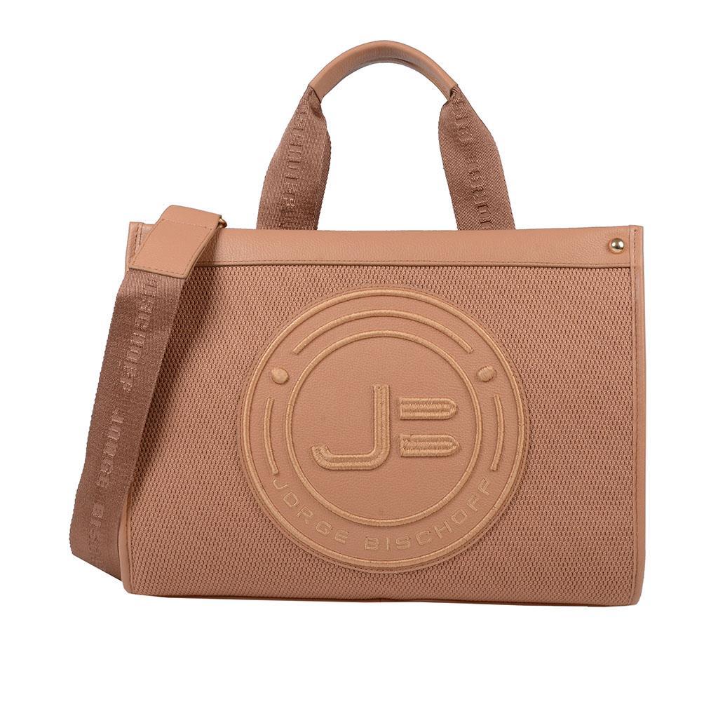 ecd3671ccf Bolsa sacola avelã I19 - Jorge Bischoff Sapatos, bolsas e acessórios ...