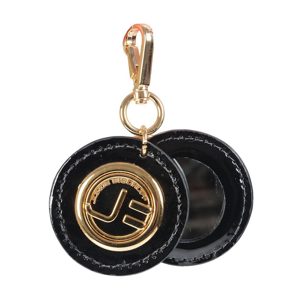 Chaveiro (bag charm) preto