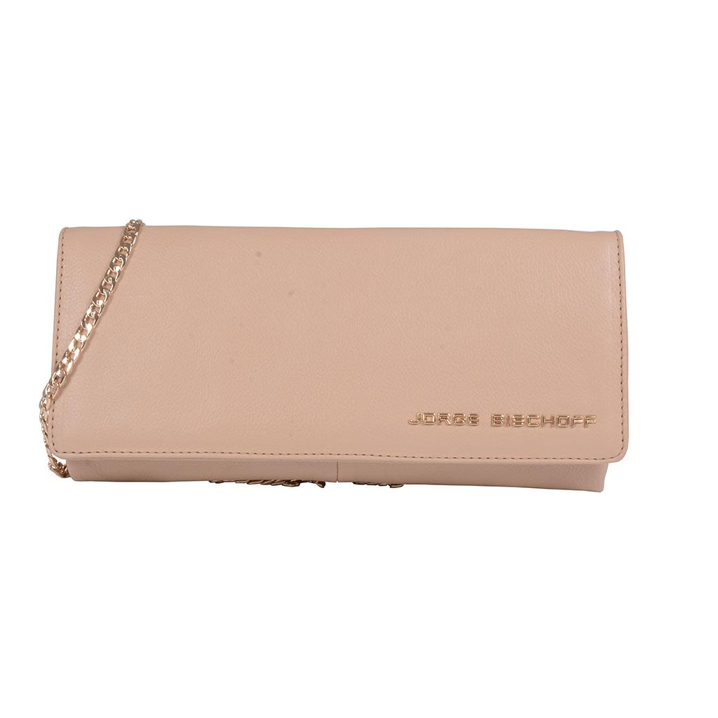 Clutch (festa) estruturada blush I19