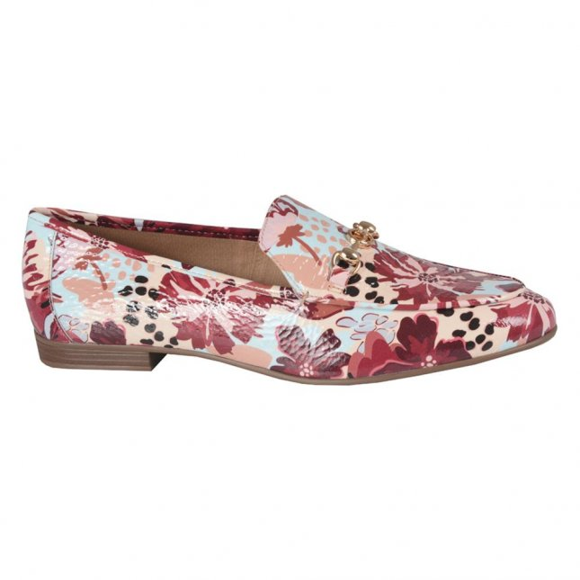 Loafer Couro Floral I21