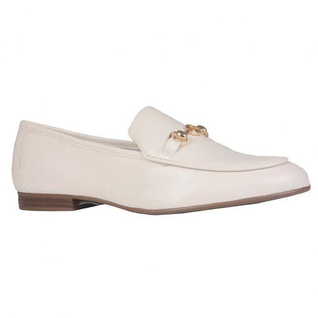 Loafer Couro Off White I21