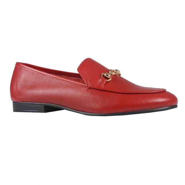Loafer Couro Dark Red  I21