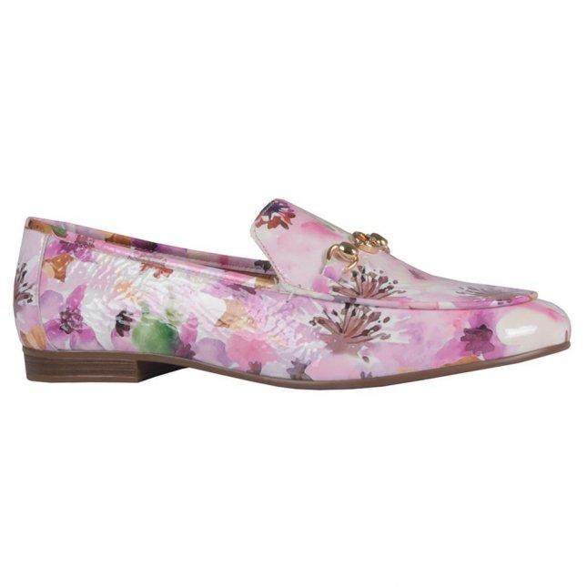 Loafer Couro Flower V21