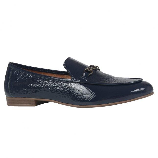 Loafer Couro Deep Blue I21