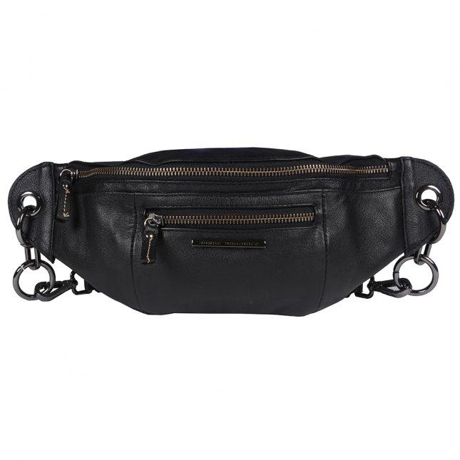 Belt Bag em Couro Preto I20
