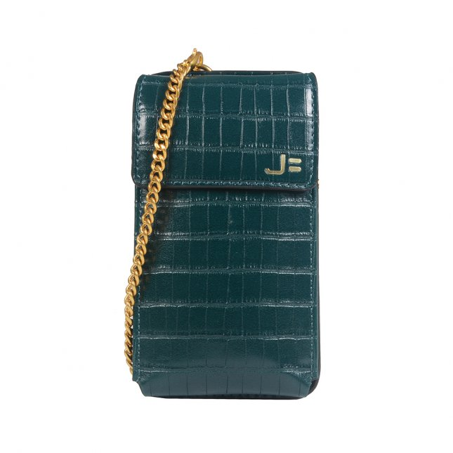 Porta-Celular Croco Verde