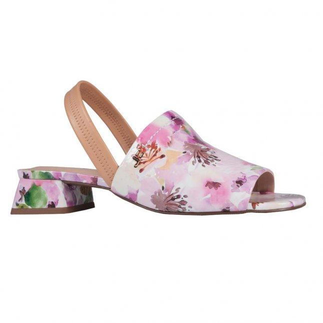 Sandália em Couro Flower V21