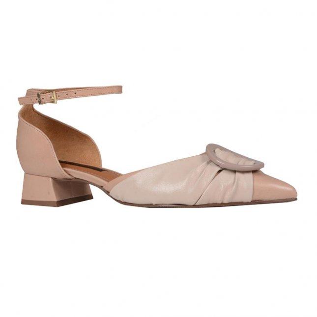 Scarpin Areia com Ankle Strap I20