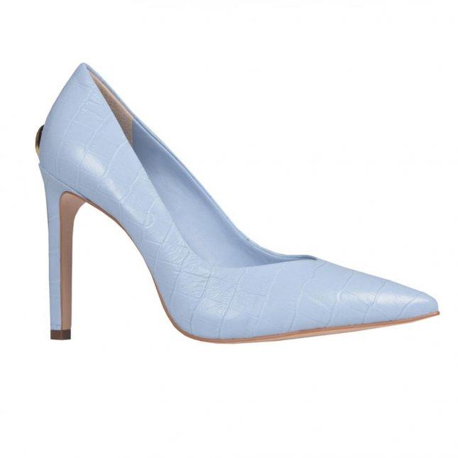 Scarpin Bico Fino Cotton Blue V21