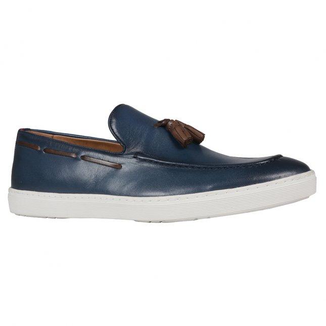 Sapato Masculino Slip On Azul V21