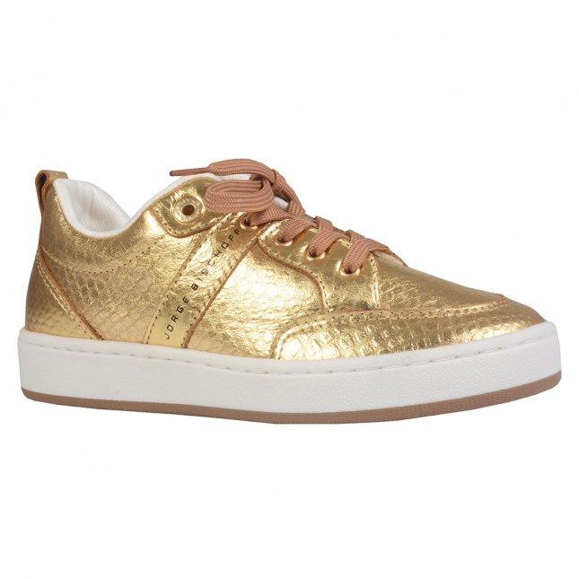 Tênis Casual Metalizado Dourado I21
