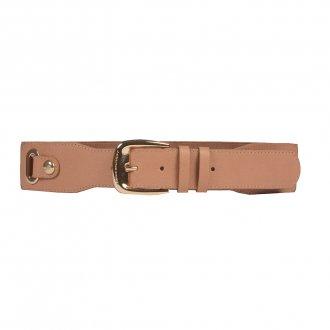 Imagem - Cinto Cintura Couro Natural com Elástico V20