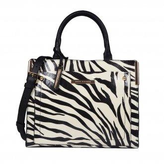 Imagem - Bolsa estruturada zebra P&B I19