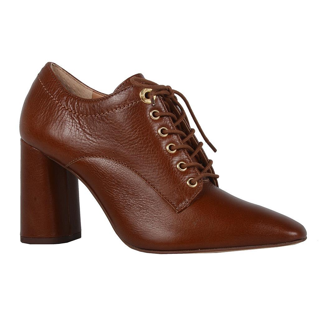 Imagem - Ankle boot cacau com amarração I19