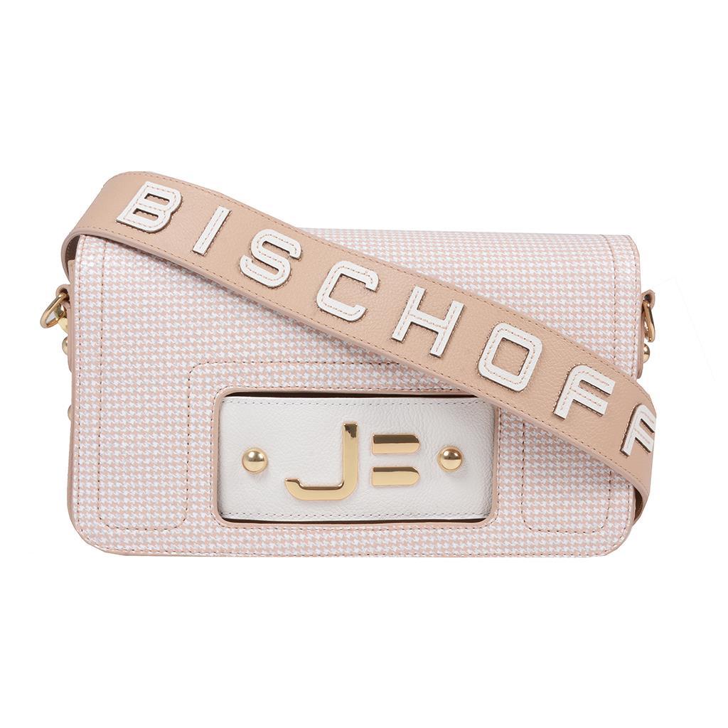 Imagem - Bolsa tiracolo estruturada blush I19
