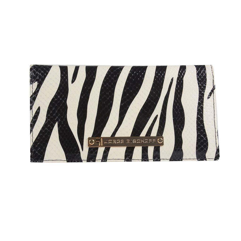 Imagem - Carteira verniz zebra P&B I19