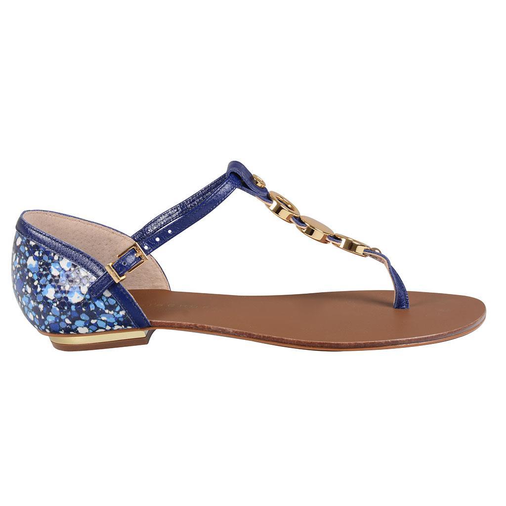 Sandália azul 2
