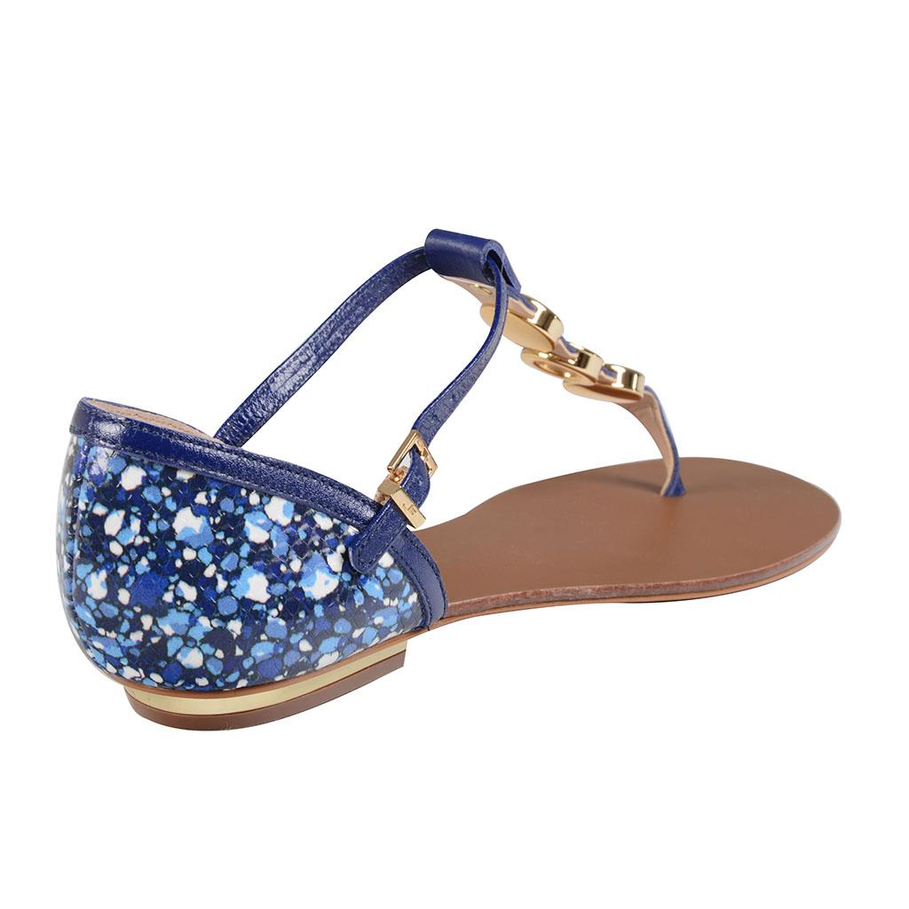 Sandália azul 3