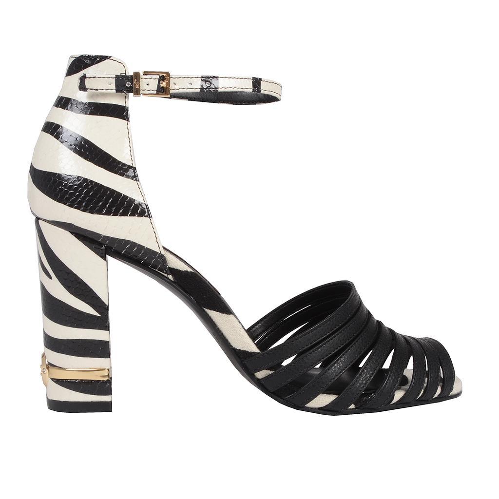 Sandália Zebra P&B I19 2