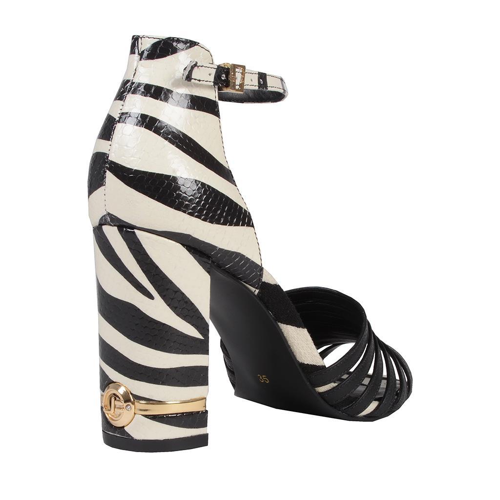 Sandália Zebra P&B I19 3