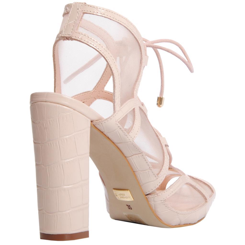 Sandália creme 4