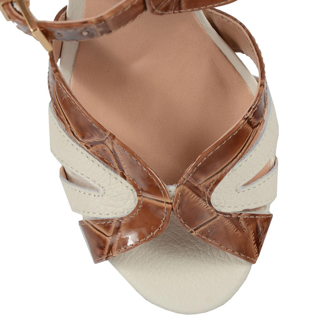 Sandália croco 4