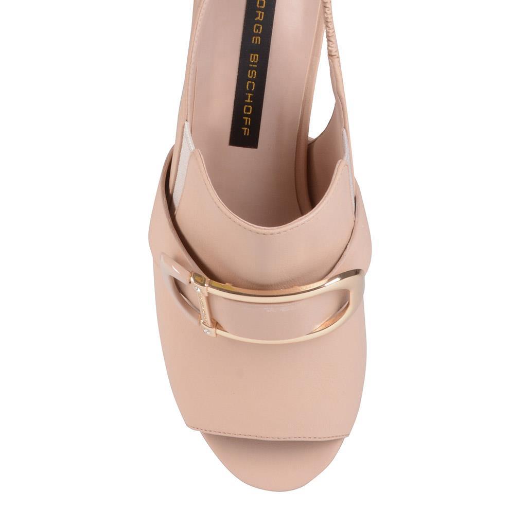 Sandália slingback blush I19 4