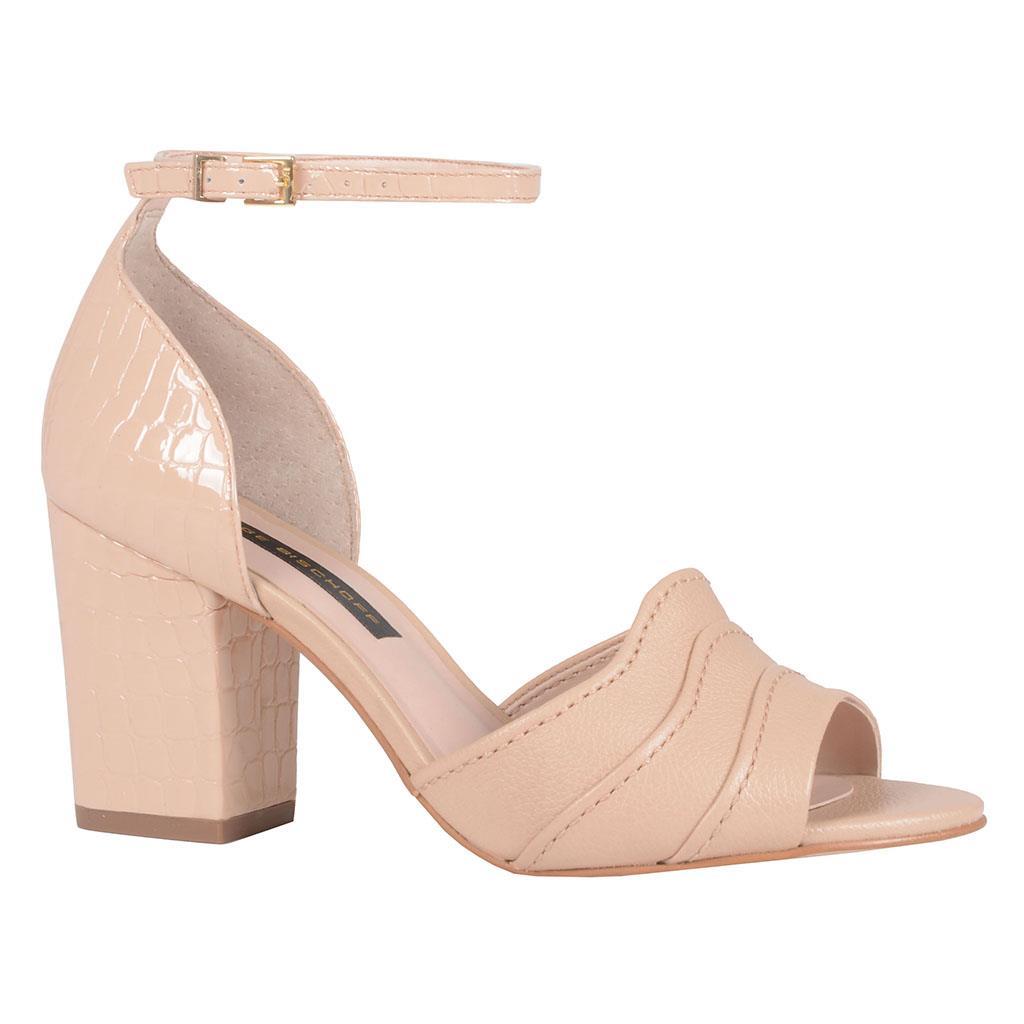 Sandália verniz blush I19