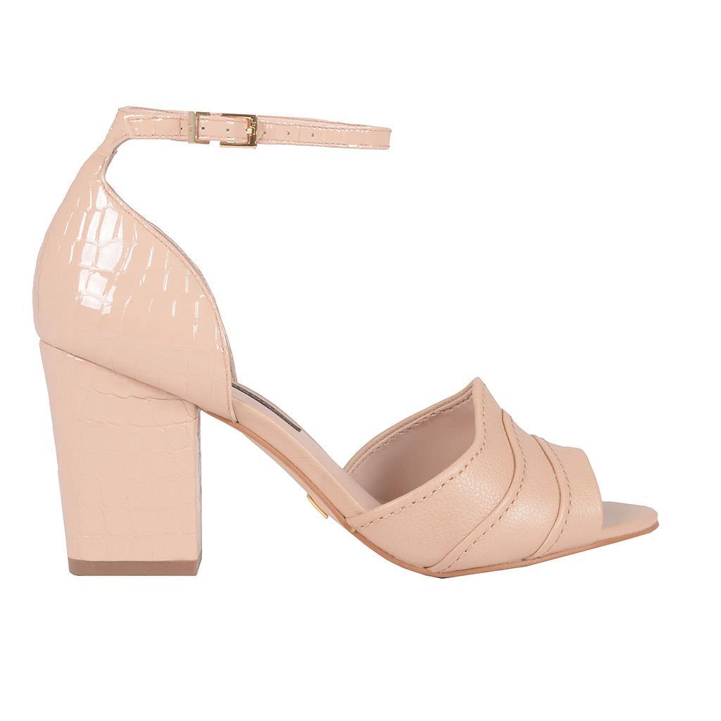Sandália verniz blush I19 2