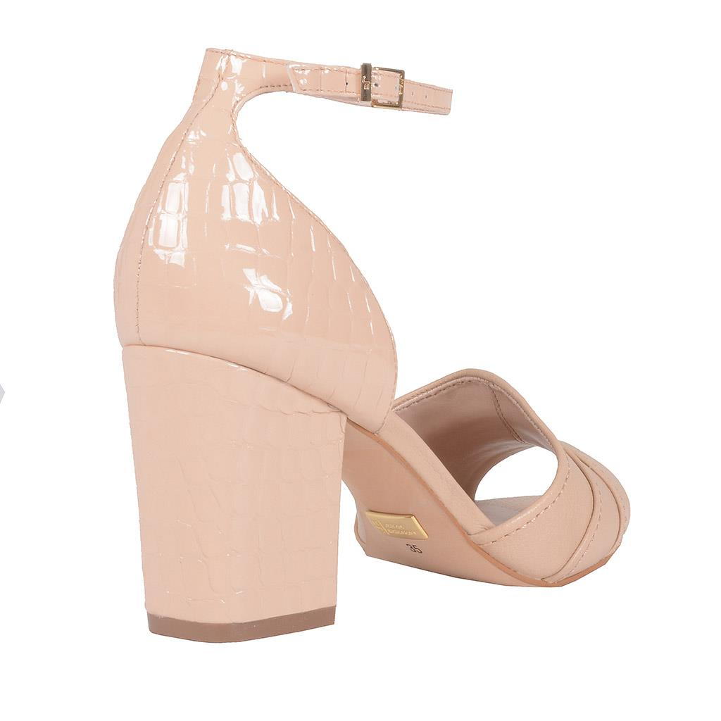 Sandália verniz blush I19 3