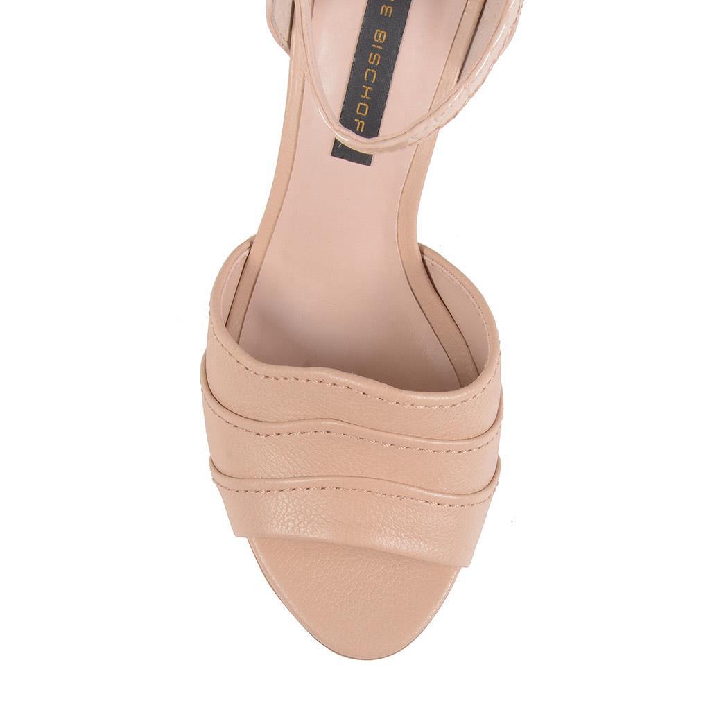 Sandália verniz blush I19 4