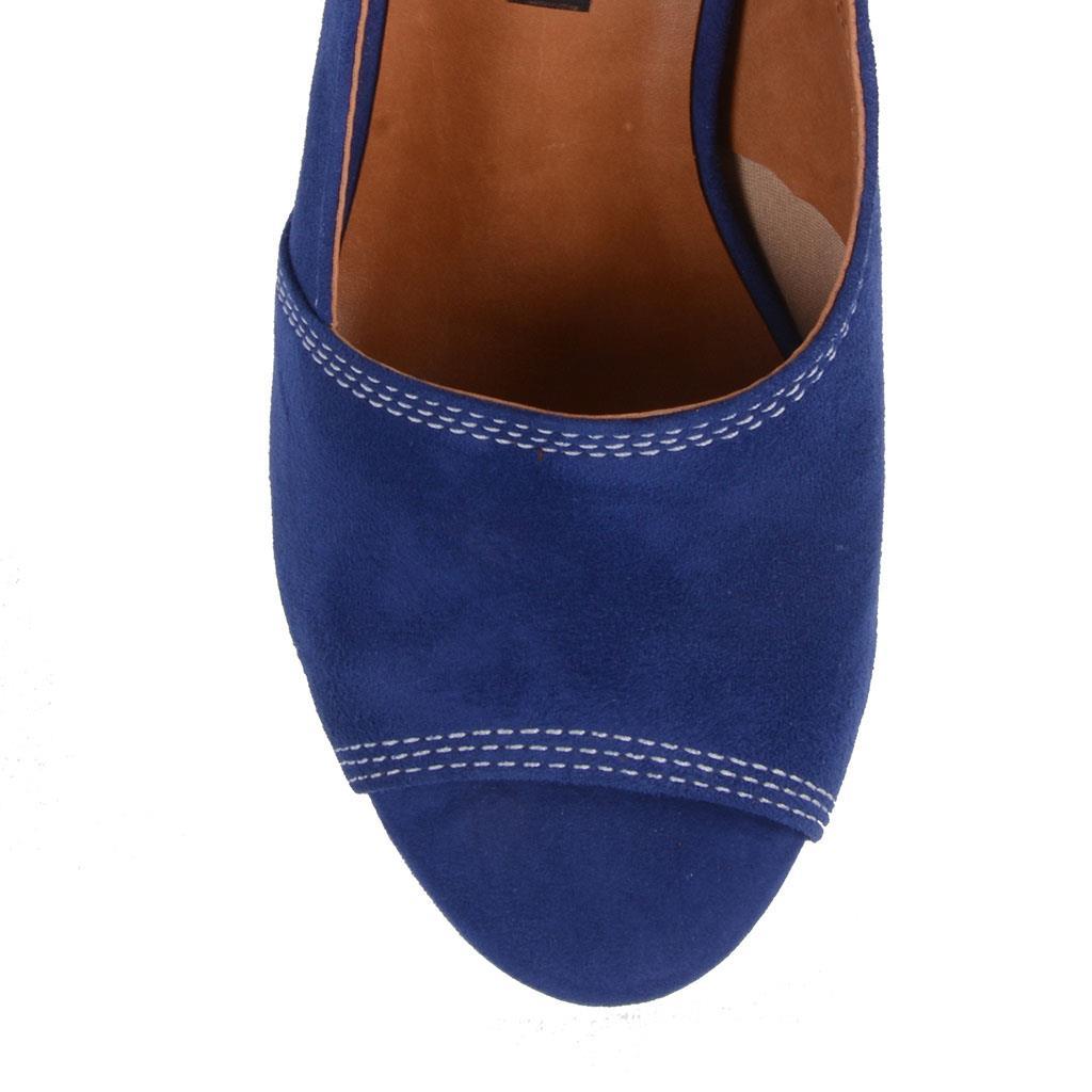 Sandália azul índigo V19 4