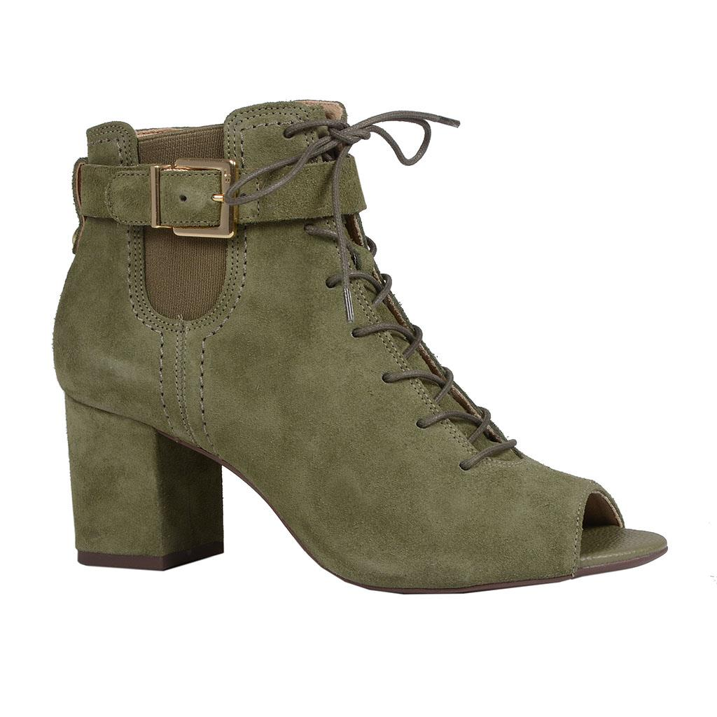 Open Boot verde militar I19