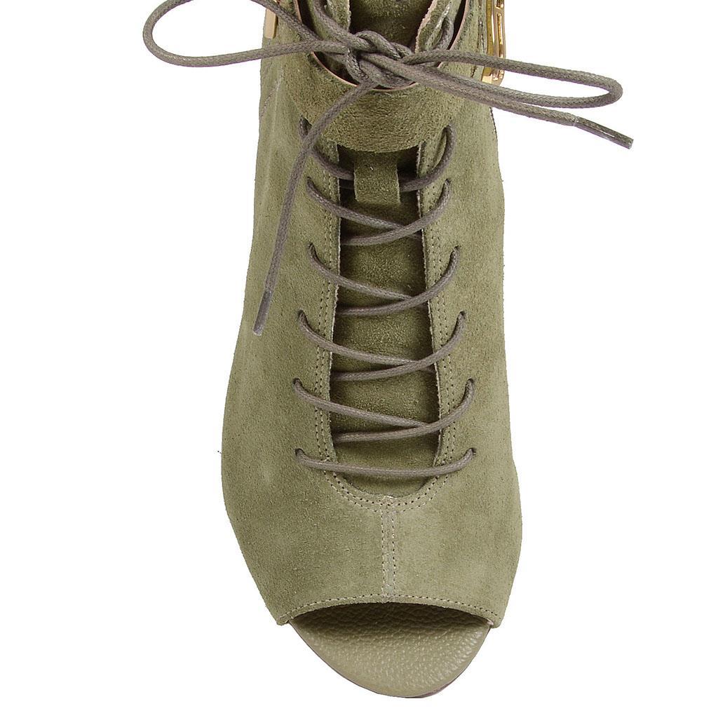 Open Boot verde militar I19 4