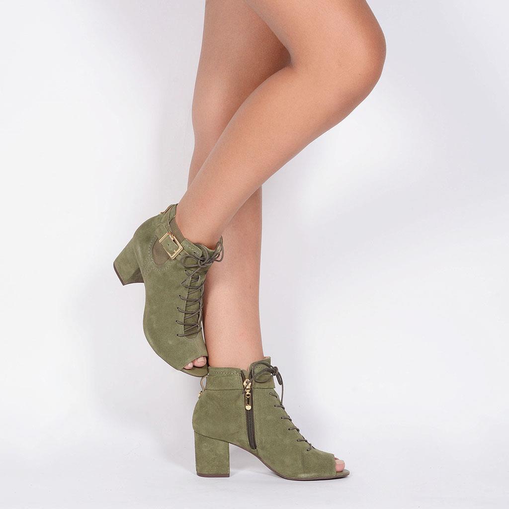 Open Boot verde militar I19 6