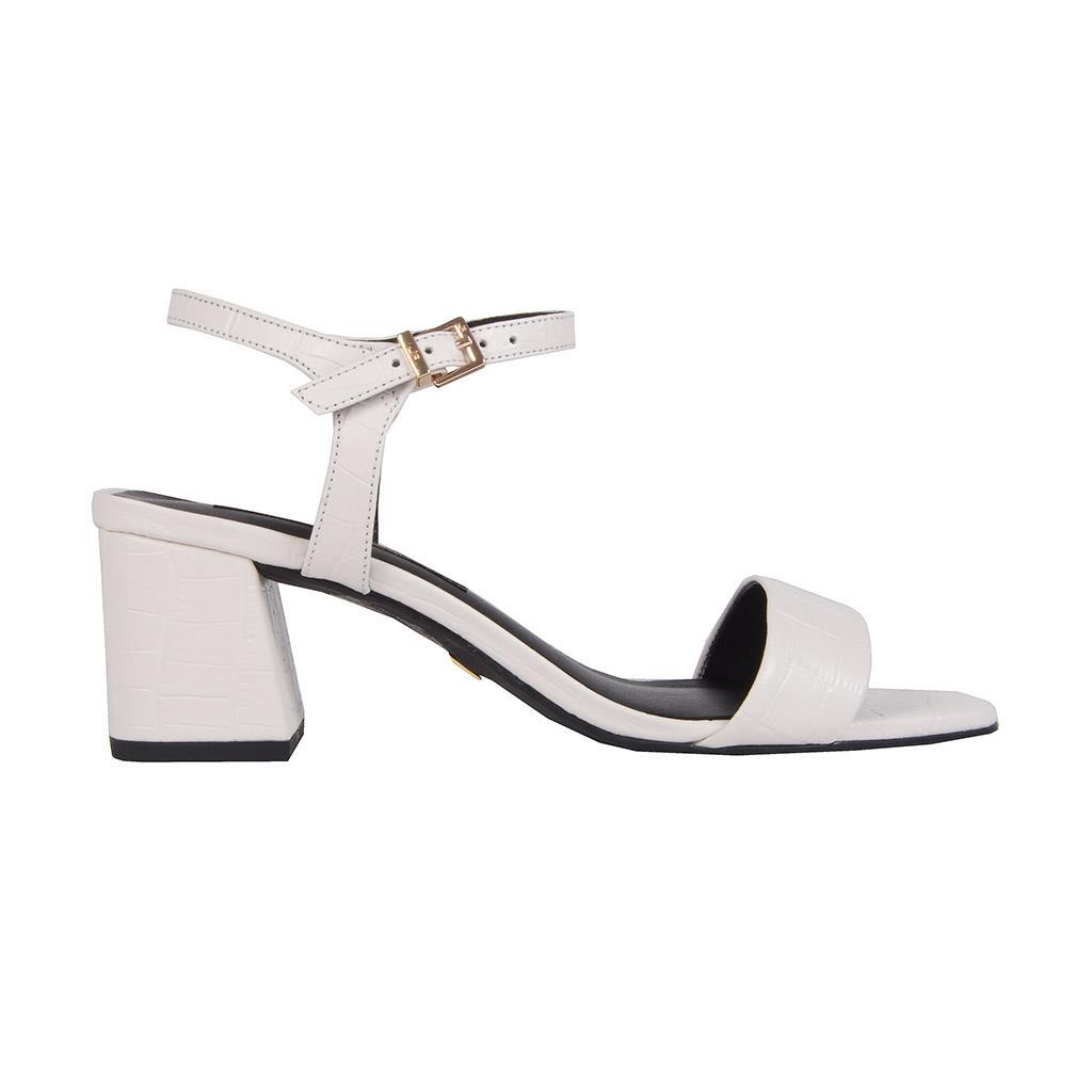 Sandália croco branco I19 2