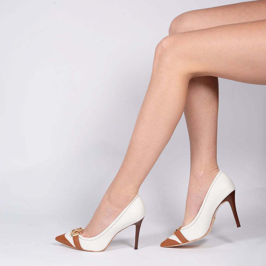 Scarpin branco V19 3