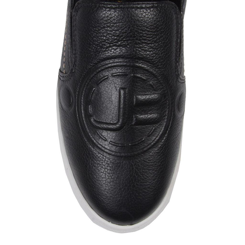 Tênis Slip On Preto Logomania 2