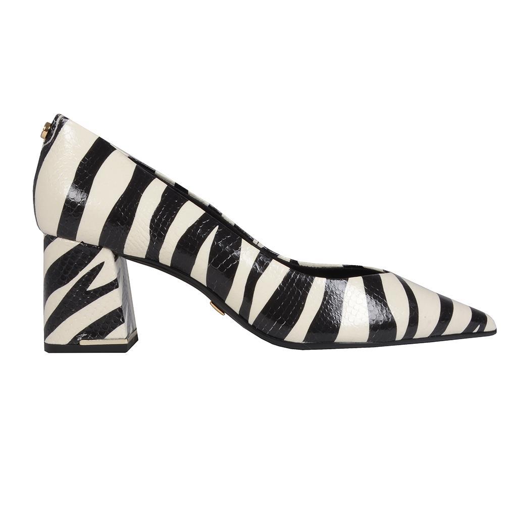 Scarpin zebra P&B I19 2