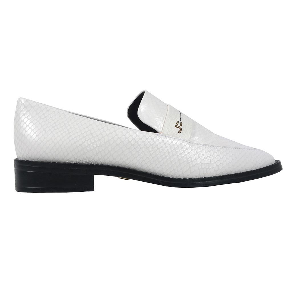 Loafer feminino branco I19  2