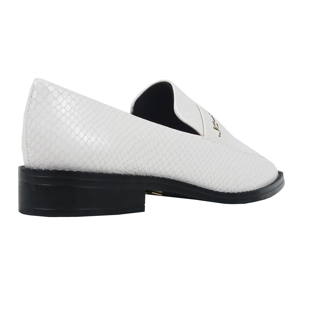 Loafer feminino branco I19  3