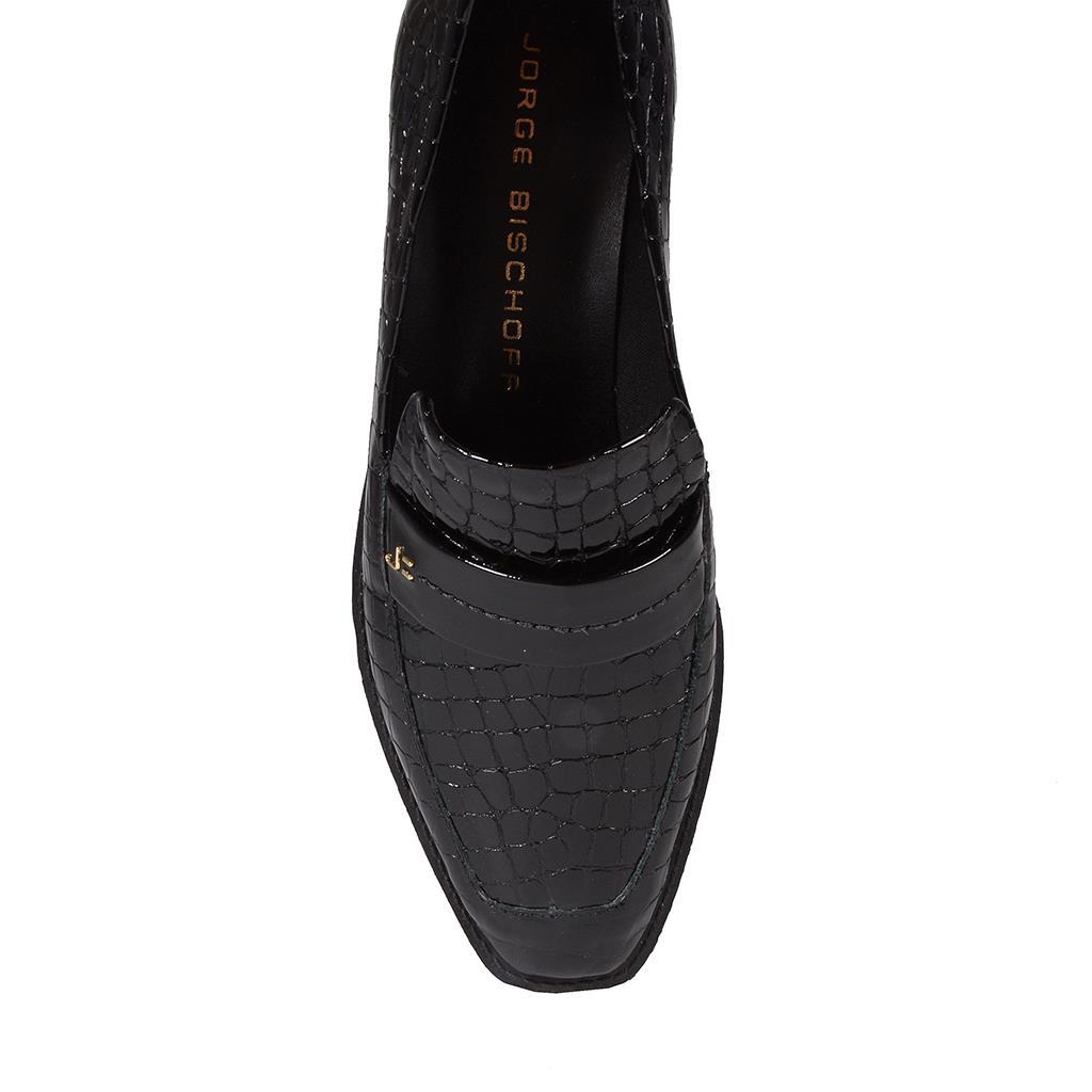 Loafer feminino preto I19  4