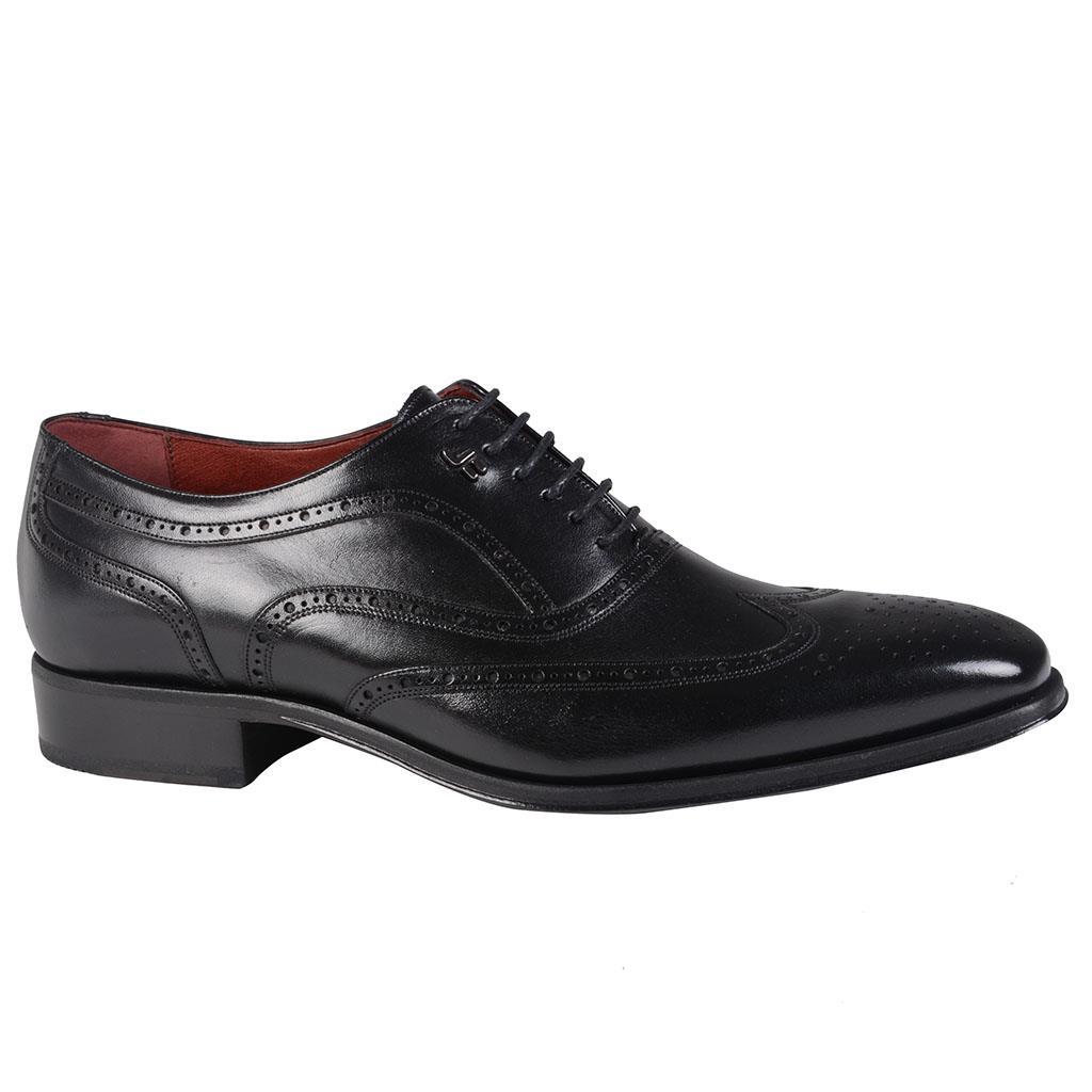 Sapato social oxford brogue preto I19