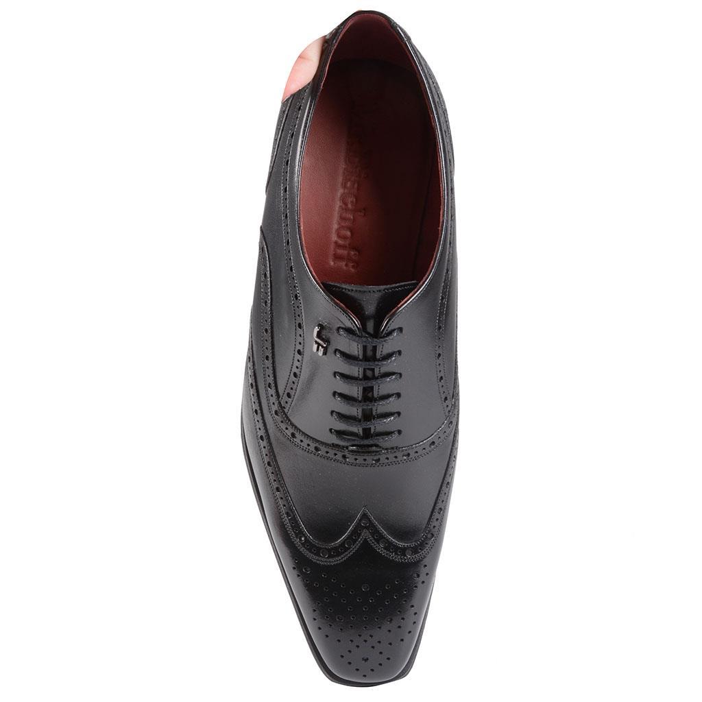 Sapato social oxford brogue preto I19 4