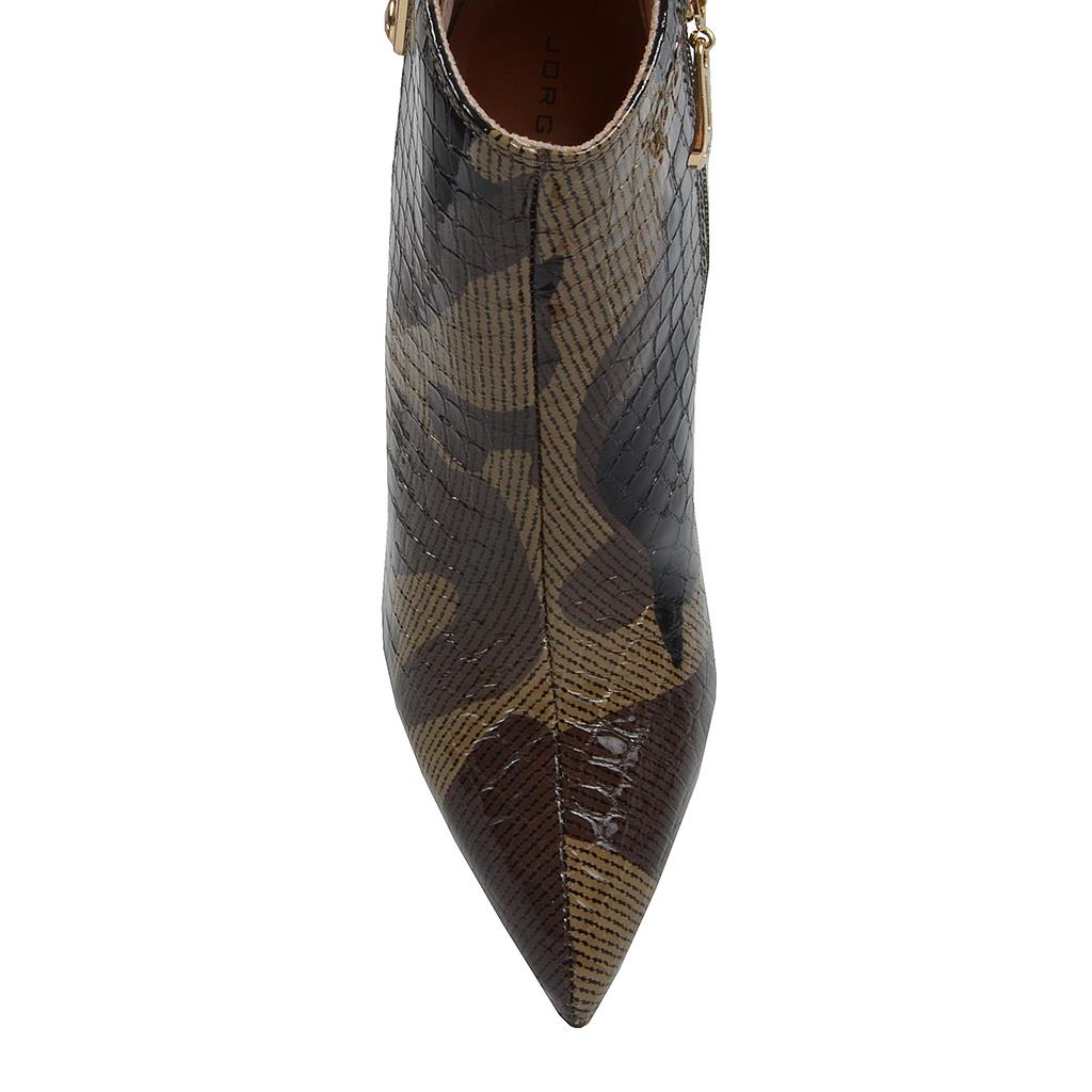 Bota cano curto camuflado militar I19 4
