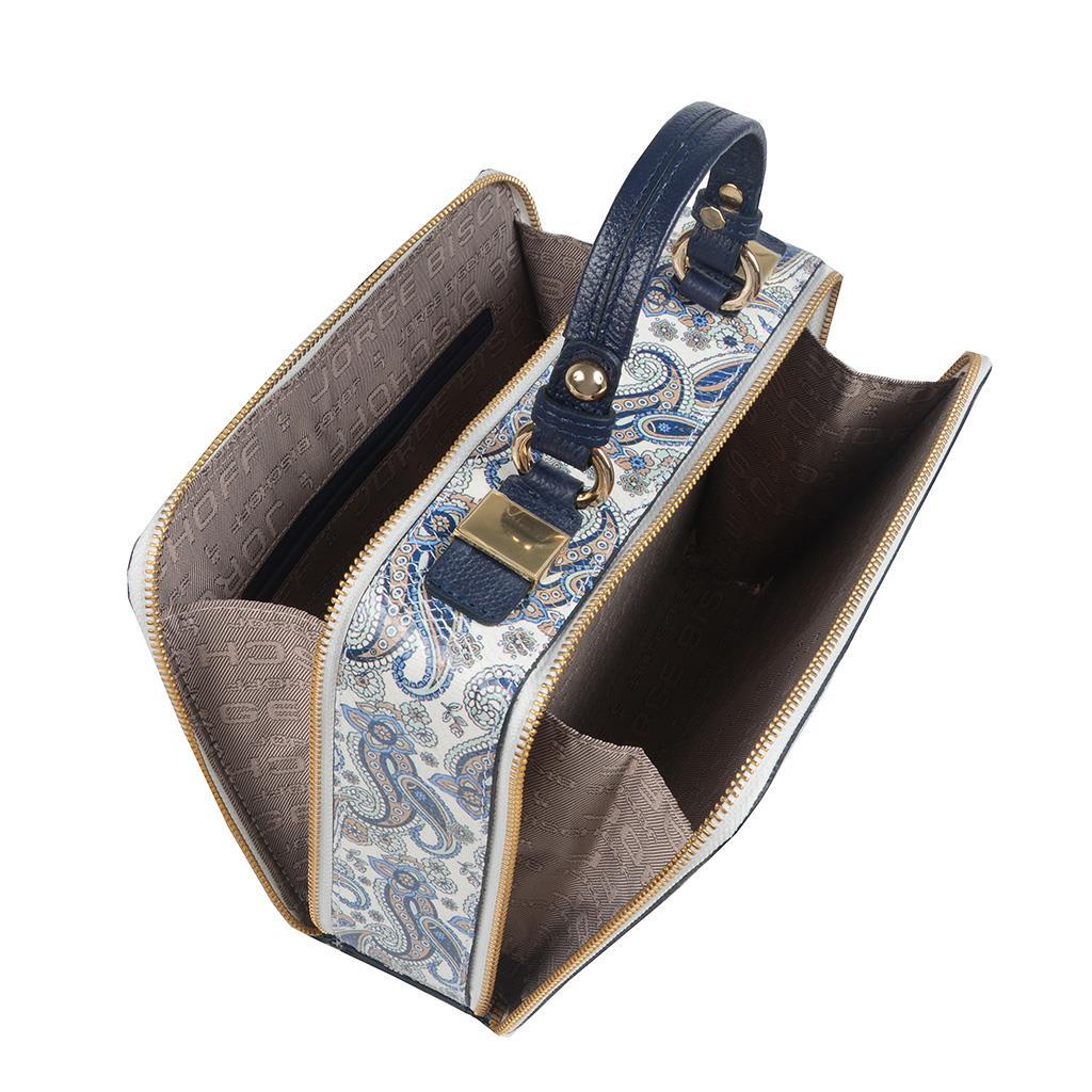 Bolsa Box Tiracolo Azul Celeste  2