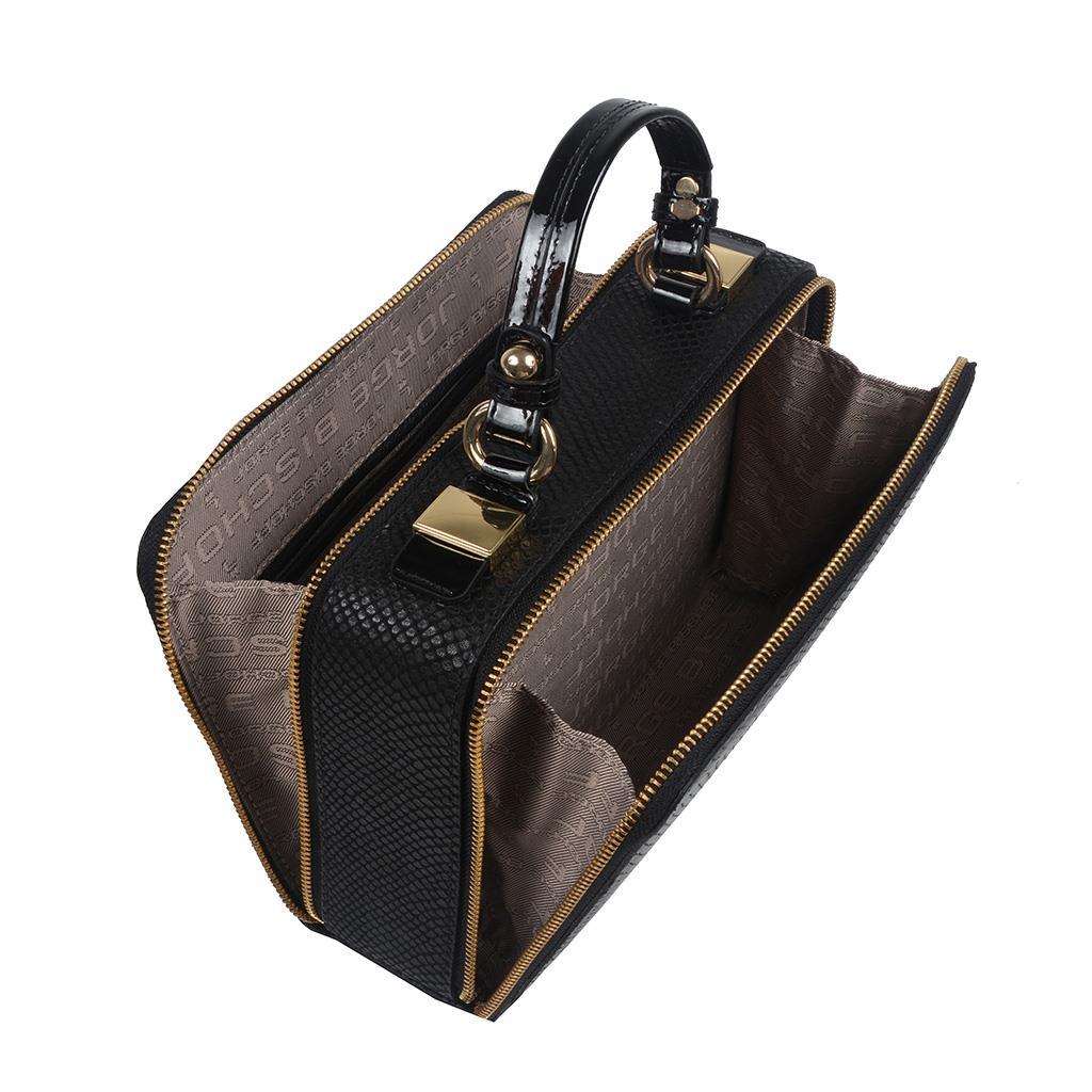Bolsa Box Tiracolo Preta 2